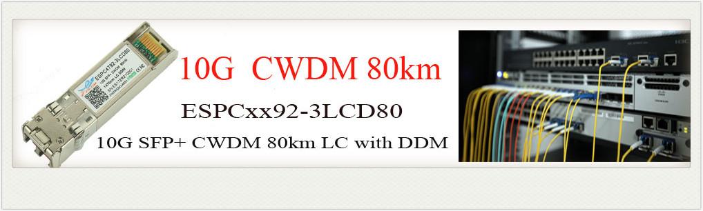 10G SFP+ CWDM 80km光模块