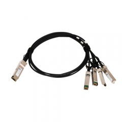 40G QSFP+ to 4x10 SFP+ breakout passive copper cables